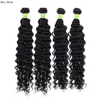Wholesale Human Hair Extension Store Natural Color Brazilian Deep Wave Real Brazilian Virgin Hair Can Dye and Perm Softest Breathable Quality Wefts