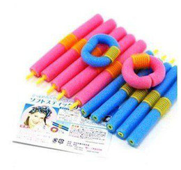 Wholesale SOFT ANION EPE BENDY HAIR ROLLERS FOAM CURLERS