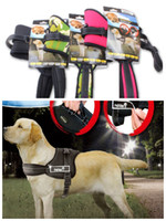 Wholesale Pet training harness Heavy duty training harness dog training harness XS S M L XL red camougle black