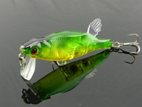 Wholesale unpainted minnow fishing tackle lure bait cm g pieces per colors