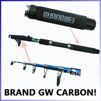 Wholesale GW guangwei shark m telescopic segments Carbon Fishing Rod