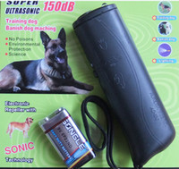 Wholesale Ultrasonic Dog Repeller Training Pet Dog Device Trainer in TRAINING REPELLER LED light
