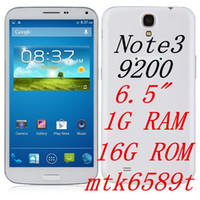 Star 6.5 Android original NOTE3 N9200 N9000 6.3'' IPS MTK6589T quad core 1.5GHz 1GB RAM+16GB ROM 1280*720 Android 4.2 5MP+13MP camera 3G GPS dual sim PHONE