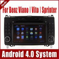 Wholesale Android Car DVD Player for Mercedes Benz Vito Viano Sprinter W906 w GPS Navigation Radio Bluetooth TV SD USB Map Audio Sat Nav G WIFI