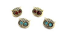 Wholesale NEW Vintage Style Jewellery Fashion womans OWL Earrings E3109