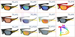 Wholesale 2pcs PIT Colors New UV400 Hot Sale Men Women Protective Riding Cycling Bicycle Fashion Outdoor Sports Sunglasses