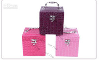 Wholesale LLFA176 Fashion Storage Jewelry Box With Mirror Box To Jewelry Colors