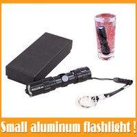 Wholesale Mini W AA Led Handy Outdoor Waterproof Flashlight Torch For Sporting Camping