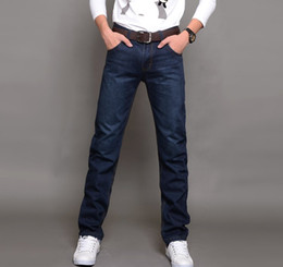 Wholesale 2014 new fashion men s cotton Slim Straight jeans