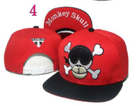 Wholesale TEAM LIFE Monkey Skull Fuck snapback cap raider hat bois ExacTly smile snapbacks men s caps