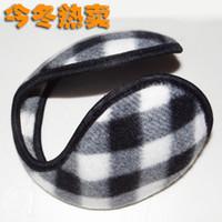 Wholesale Earmuffs earmuffs ear warmers weatherization ears warm earmuffs hot plaid increase thicker version