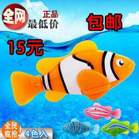 Wholesale Pieces Robo Fish Magical Turbot Fish Electronic Pet Fish Magic Swimming Fish Toys Children Christmas Gift Top Quality