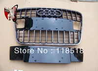 Cheap High Quality Chromd ABS Q7 grill auto car front grille for Q7 bumper 2008-2012 without senser hole