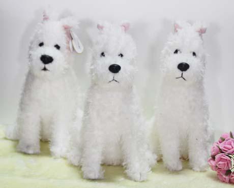 Tintin Milou Plush Snow Dog Plush Toy Doll Tintin