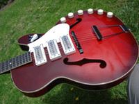 Solid Body 6 Strings Mahogany Wholesale - hot High Quality new style Harmony Rocket H-59 Model Vintage Guitar