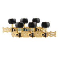 Wholesale Gold Plated Plastic Buttons Machine Head Long Classical Guitar String Tuning Keys Pegs Alice AO B3P Guitar Tuner New