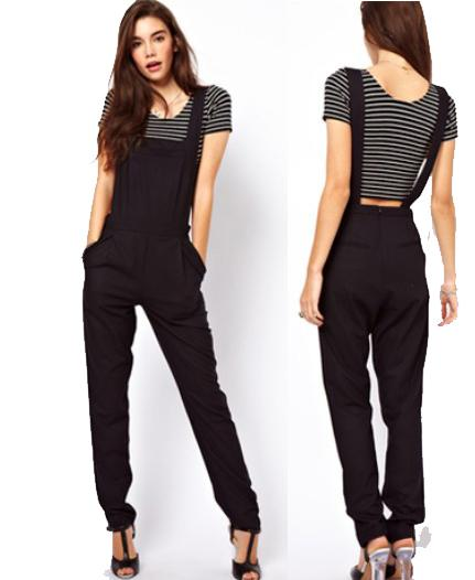 Black Plus-Size Jumpsuit for Women | VogueMagz : VogueMagz