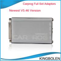 Wholesale 2014 Universal Diagnostic Tools V6 CARPROG with all adaptors car prog for radios odometers dash Immobilizers tool DHL
