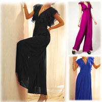 100% Linen Shorts Women Boutique Fashion Jumpsuit Women 2013 New Temperament Chiffon Women Rompers Flounced High Waist Deep V-neck Sexy Jumpsuit WF-4981