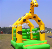 Wholesale Inflatable bouncer hot saleing jumper inflatable castle bouncer inflatable games giraffe inflatable