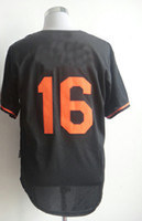 Wholesale Baseball Jersey Wei Yin Chen Black Fashion Jerseys Embroidery Logos Jersey Can Mix Order Cool Base