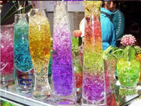 Wholesale New Arrival Creative Magic Style Crystal Mud Clay Water Soil Beads Flower Planting Plant Flower bags g bag