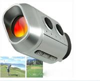 Wholesale 7X18 Golf Electronic Rangefinder Golf monocular range finder Golf Scope Laser Range Finder Dropshipping Golf Finder
