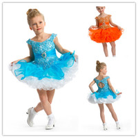 Wholesale 2014 Cute V Neck Lace Organza Little Girls Pageant Dresses Mini Beaded Toddler Cupcake Ruffles Little Girls Dresses with Appliques B