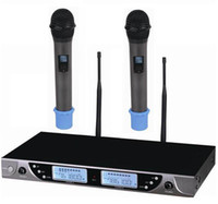 Wholesale 200 Channel Microphone Wireless Professional for Stage performance with microphones