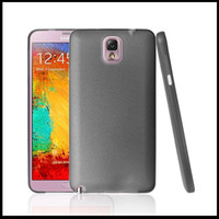Wholesale Soft skin PP Plastic Cell Phone case back cover For Samsung Galaxy Note III Note3