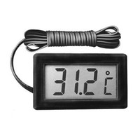 Wholesale S5Q Tempurature Monitor Food Freezer Aquarium Refrigerator Digital Thermometer AAAAHS