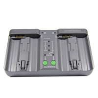 Wholesale Dual Battery Charger MH For Nikon Camera EN EL18 Li ion Rechargeable Battery New E1113A
