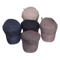 Wholesale Trendy Boy Ball Caps Cotton Cowboy Baseball Cap Men Visor Sun Hats Fit Sports Travel Colors Choose DIM