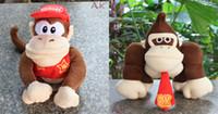 Wholesale Super Mario plush toy doll styles mario bros diddy kong donkey kong