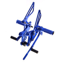 Wholesale Adjustable Rarsets Rear sets For KAWASAKI ZX R