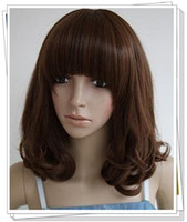 Wholesale Superior Quality and Reasonable Price Natural Looking Wigs Curly on the Bottom Women Fashion Wig Good Reputation Wigs Seller