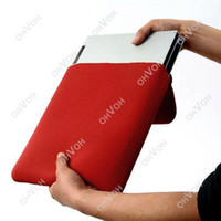 Wholesale S5Q quot Sleeve Soft Case Bag Protector for New iPAD Tablet PC Laptop UMPC New AAAAPP