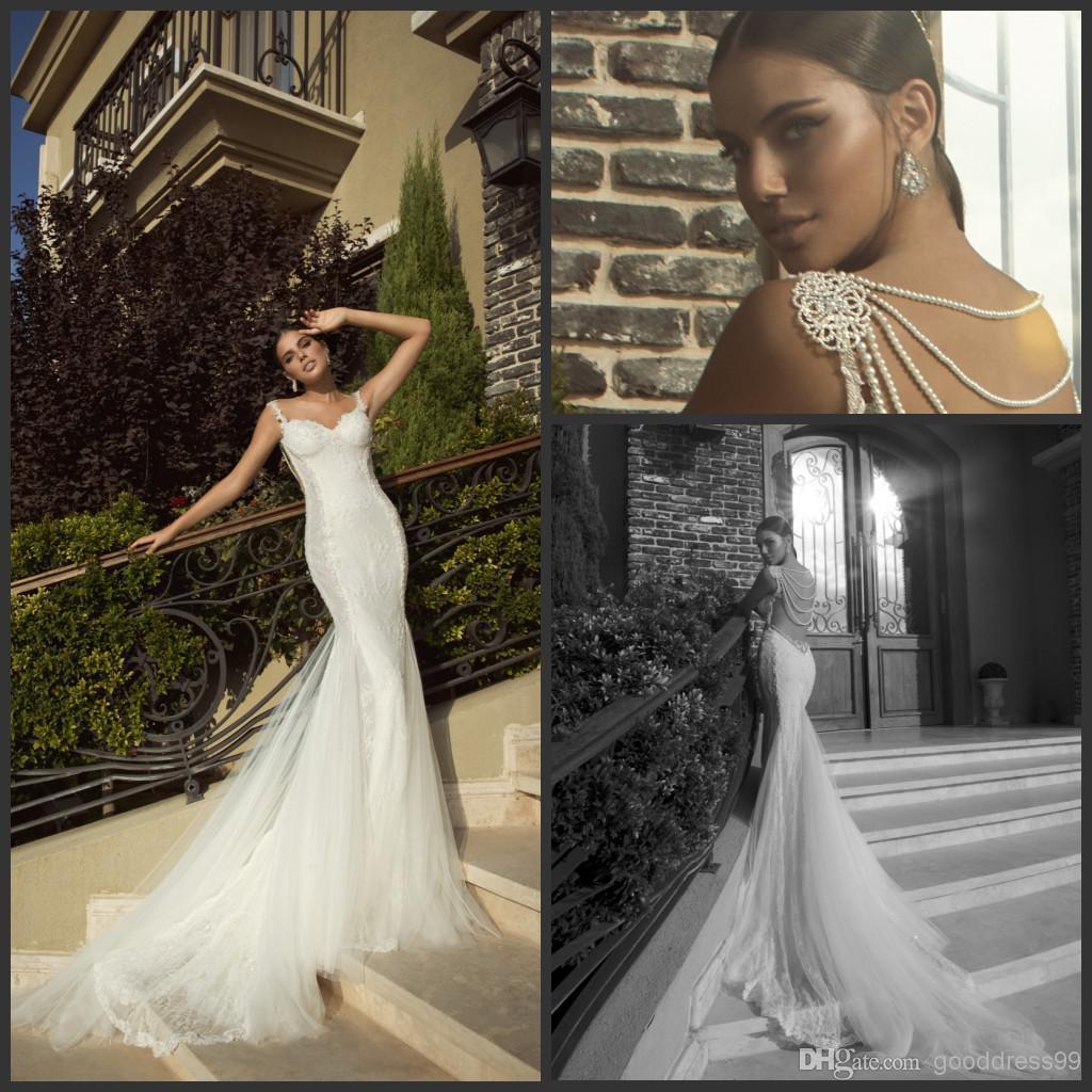 Wholesale 2014 Inbal Dror Sheer Wedding Dresses Sweetheart