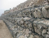 Wholesale Terraced Fields Gabion Mattress Or Basket Hot dipped Galvanized Wire