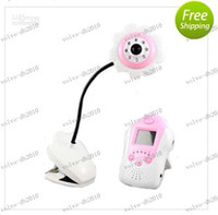 Wholesale LLFA4208 inch Baby Monitor Camera Voice Control Rechargeable Channel night vision mic m transmit cctv037b