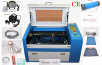 Wholesale 60W CO2 laser Engraving Machine Engraver Cutter High Precise Speed