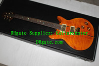 Wholesale Custom Shop Very Beauty th Reed Ltd Willison Santana Brzilian Bird Inlay Electric Guitar Tiger Top High Quality Bestselling Guitar