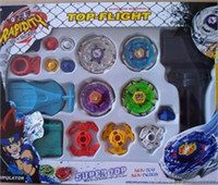 Wholesale Rare Beyblade Ultimate D Top Rapidity Metal Fusion Flight Master Set Gift