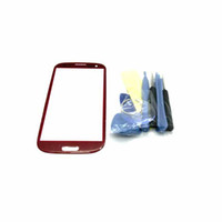 adhesive freights - Colorful For SAMSUNG S3 Opening Tools and M Adhesive Replacement Front Screen Lens Outer Glass Freight Free waitingyou
