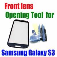 adhesive freights - Freight Free For SAMSUNG GALAXY S3 Opening Tools and M Adhesive Replacement Front Screen Lens Outer Glass waitingyou