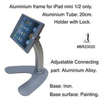 apple fair trade - trade fair enclosure desktop desk table lockable holder lock counter security secure mount kit tablet stand for Apple iPad mini