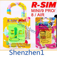 Wholesale Original RSIM R SIM R SIM Mini PRO C S Air GPP Gold EXtreme MM Thin Unlock Card For Iphone S C S IOS X IOS