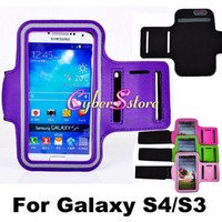 Wholesale Fashion Sport Gym Running Armband Protector Belt Soft Case Cover for Samsung Galaxy S4 i9500 S3 i9300