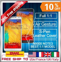 "5.7 Android 1G Android 4.3 octa MTK6589 core MTK6582 5.7""1G Ram MTK6589T N9000 Note 3 Note3 Phone + Free note 3 flip leather case"
