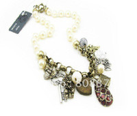 Wholesale New arrival Retrostyle women s necklace pearl necklace competitive price K